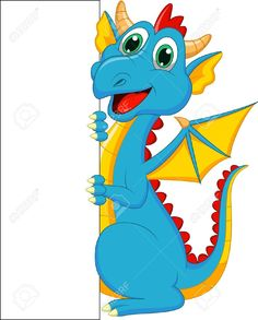 Search cliparts stock images banner black and white stock Cute Baby Dragon Cartoon Royalty Free Cliparts, Vectors, And Stock ... banner black and white stock