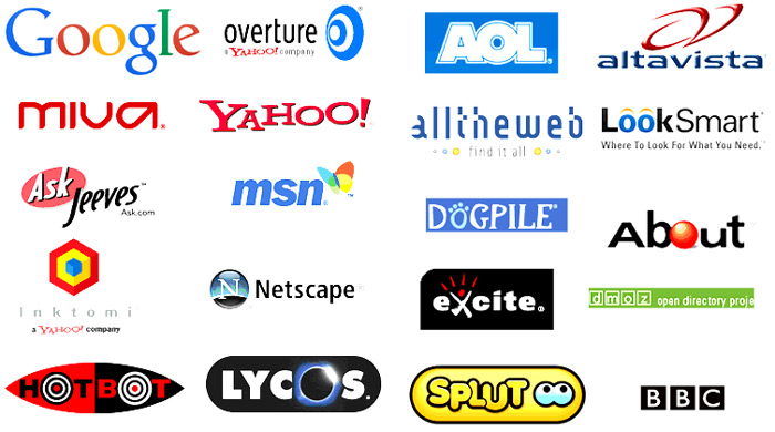 Search engines black and white Search Engines In World- Complete List Of All Search Engines In ... black and white