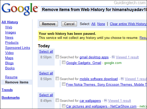 Search history image library download How to Delete Your Google Search History image library download