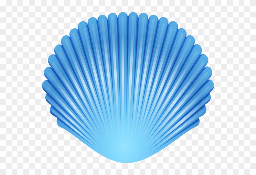 Seashell clipart transparent image library Blue Seashell Transparent Png Clip Art Image - Clip Art ... image library