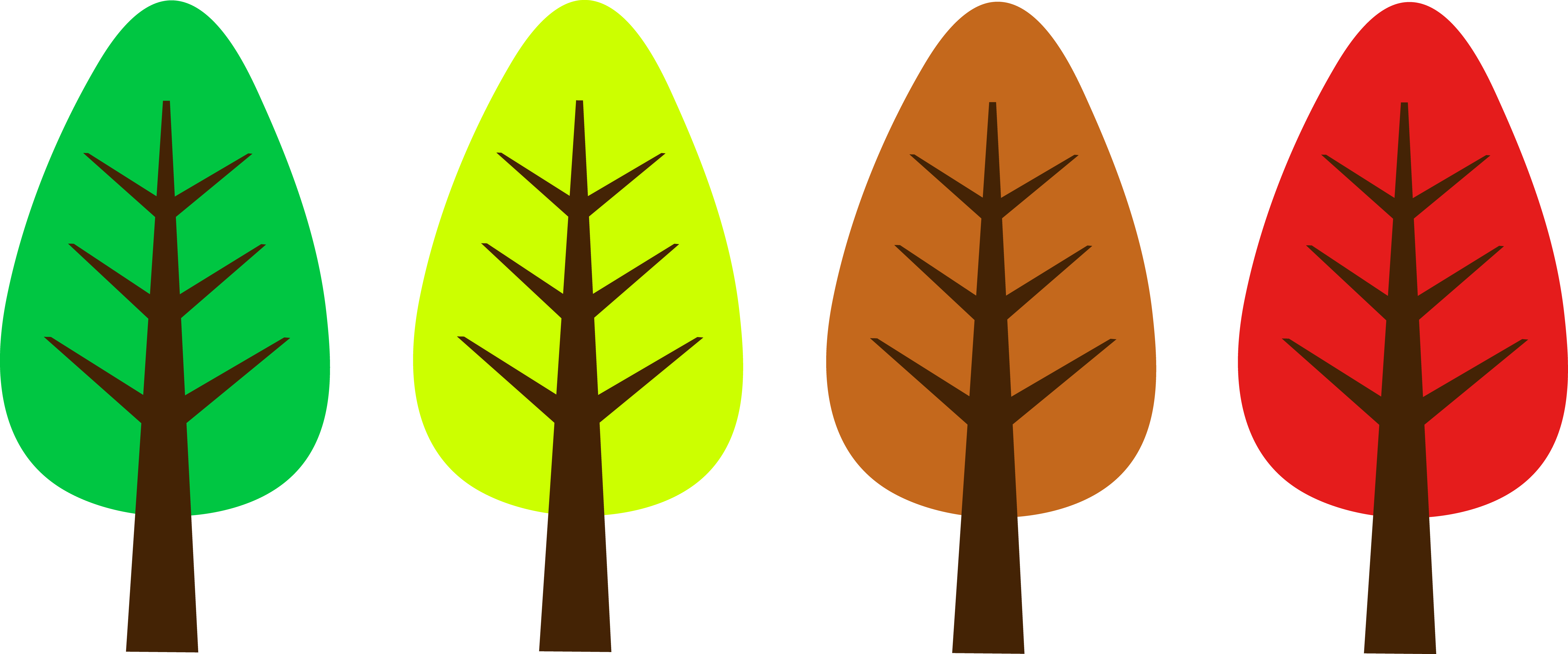 Technology tree clipart image freeuse stock Cute Simple Tree Designs - Free Clip Art image freeuse stock