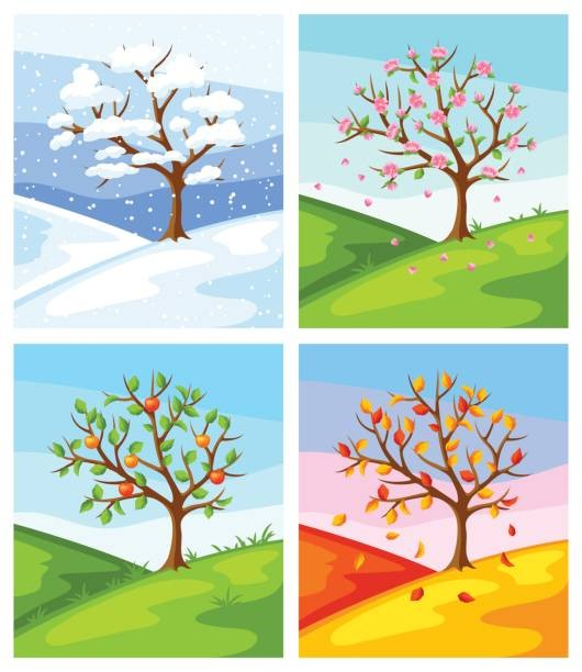 Seasons clipart pictures png download Four Seasons Cliparts 154365 4058142 Four Seasons Clipart ... png download
