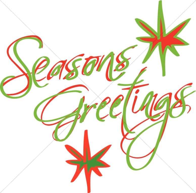 Seasons of love clipart png freeuse stock Abstract Seasons Greetings | Christian Christmas Word Art png freeuse stock