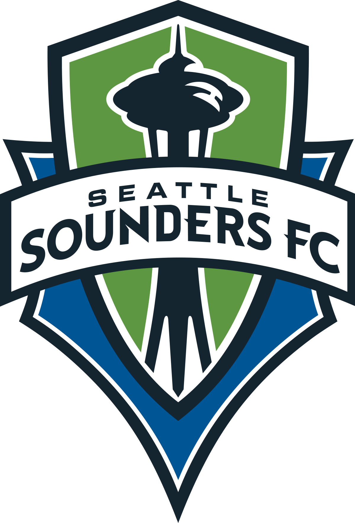 Seattle football field clipart svg black and white download Seattle Sounders FC - Wikipedia svg black and white download