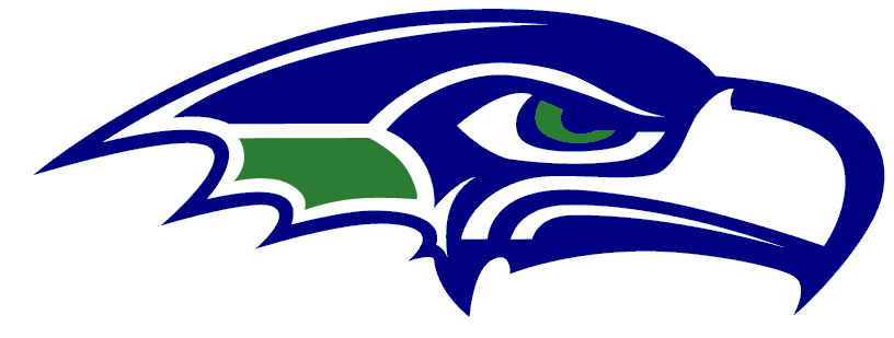 Black and white logo. Free seattle seahawks clipart