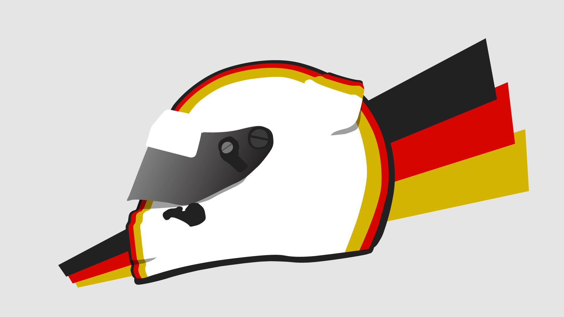 Sebastian vettel clipart clip royalty free stock Design: Sebastian Vettel\'s 2015 Ferrari helmet | FelixDicit clip royalty free stock