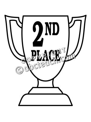 Second clipart image free Clip Art: Trophy: Second Place | Clipart Panda - Free ... image free