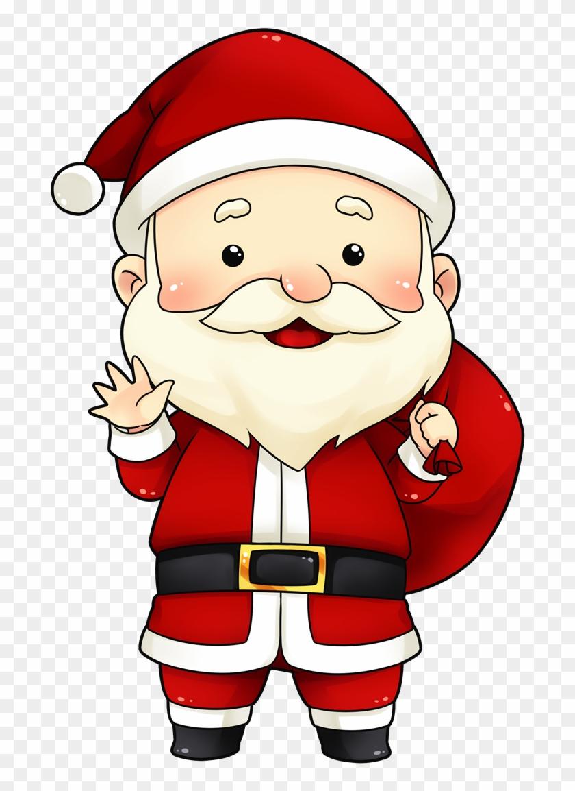 Secret santa claus clipart image transparent download Cute Secret Santa Clipart - Cute Little Santa Cartoon, HD ... image transparent download