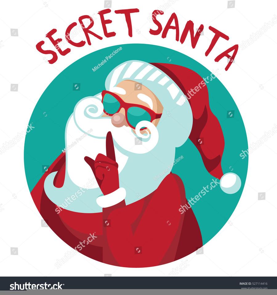 Secret santa claus clipart vector freeuse Download secret santa clip art clipart Santa Claus Clip art vector freeuse