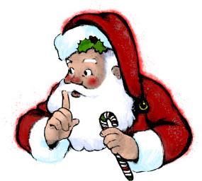 Secret santa claus clipart jpg transparent Secret Santa Clipart | Free download best Secret Santa ... jpg transparent