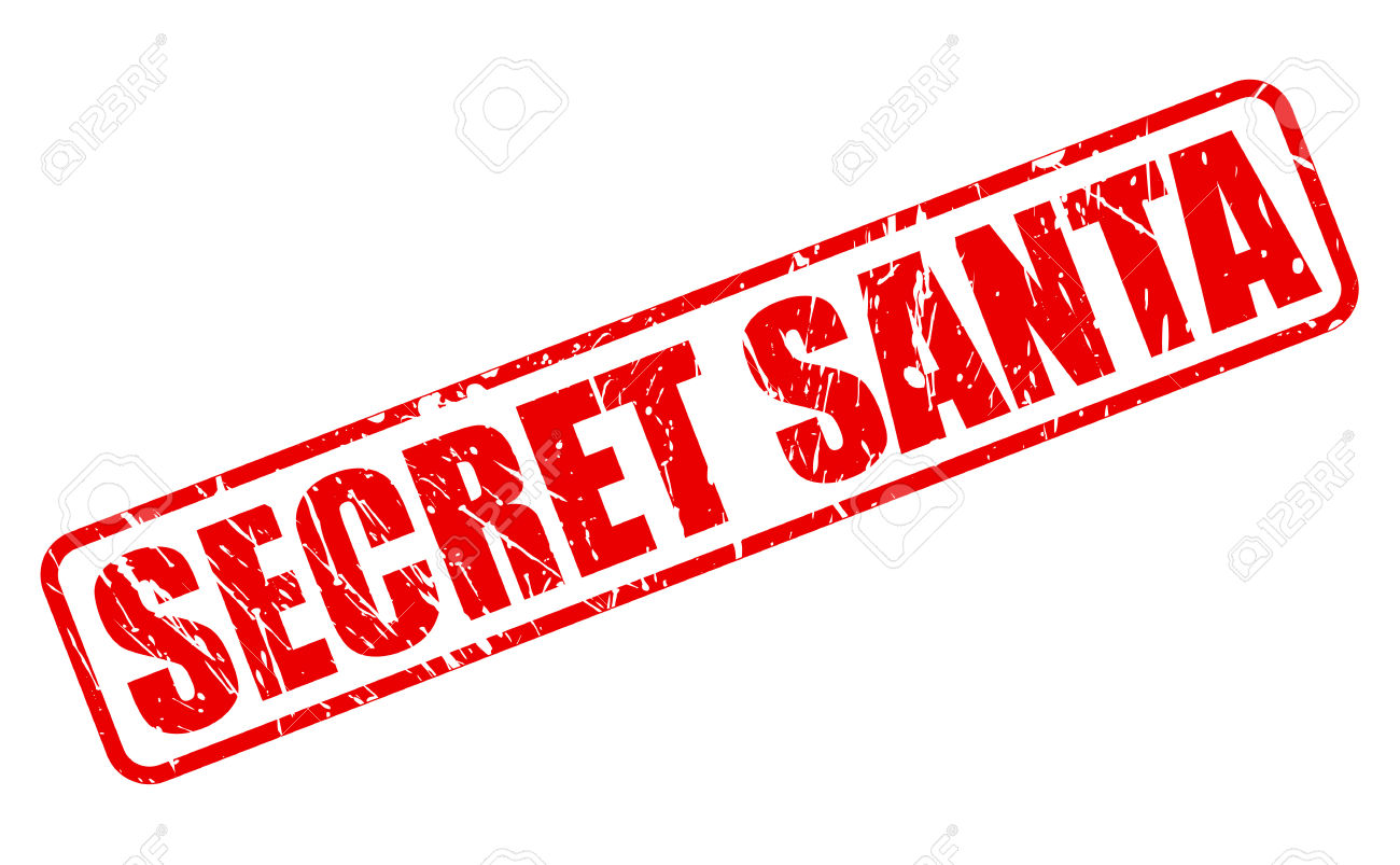 Secret santa word clipart picture stock Secular Secret Santa for American Village   Kentucky Secular ... picture stock