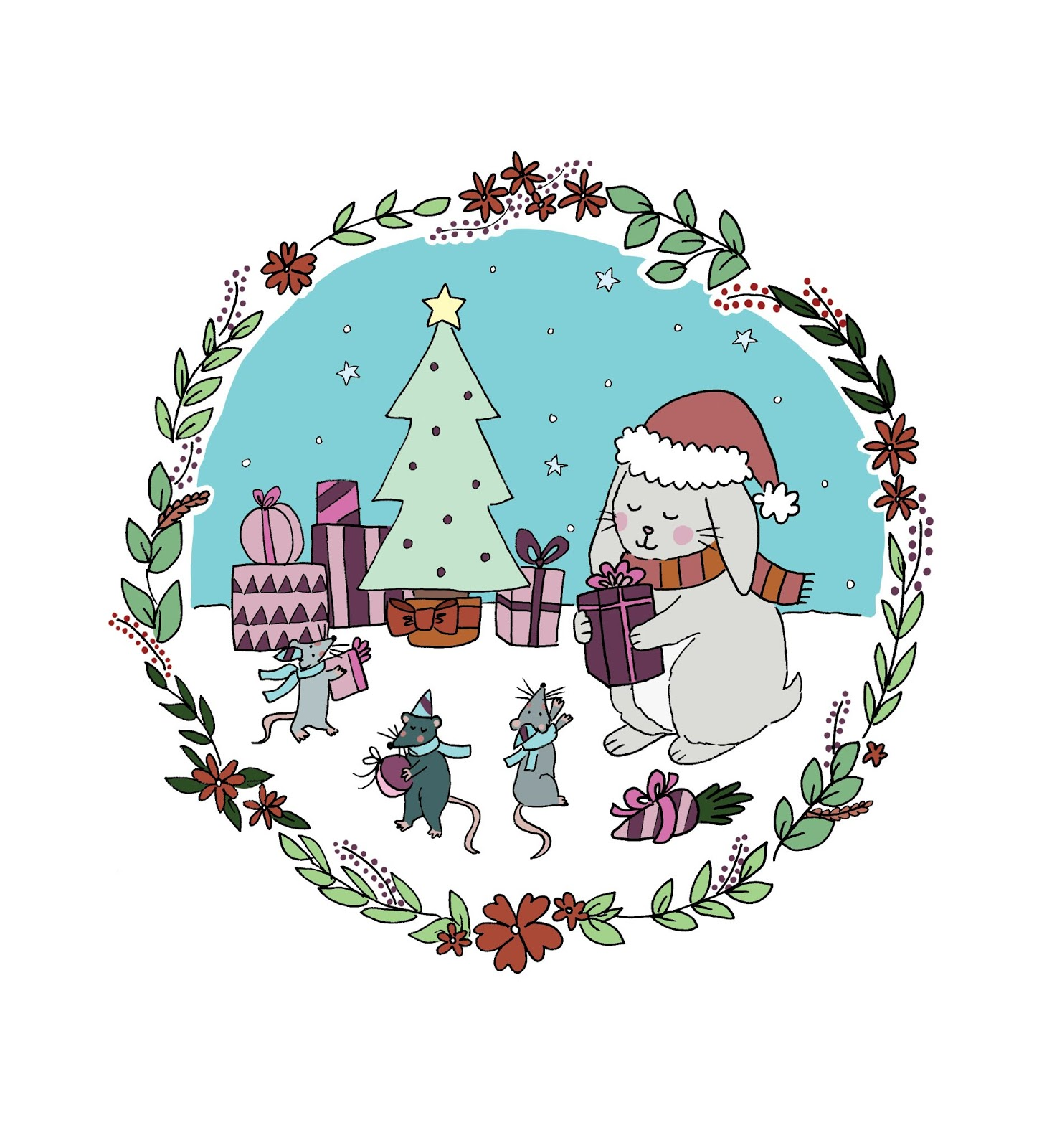 Secret santa word clipart graphic black and white library Cruelty Free & Vegan Secret Santa   2018   Sarah Kirby ... graphic black and white library