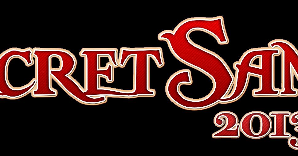 Secret santa word clipart banner black and white stock Free Secret Santa Cliparts, Download Free Clip Art, Free ... banner black and white stock