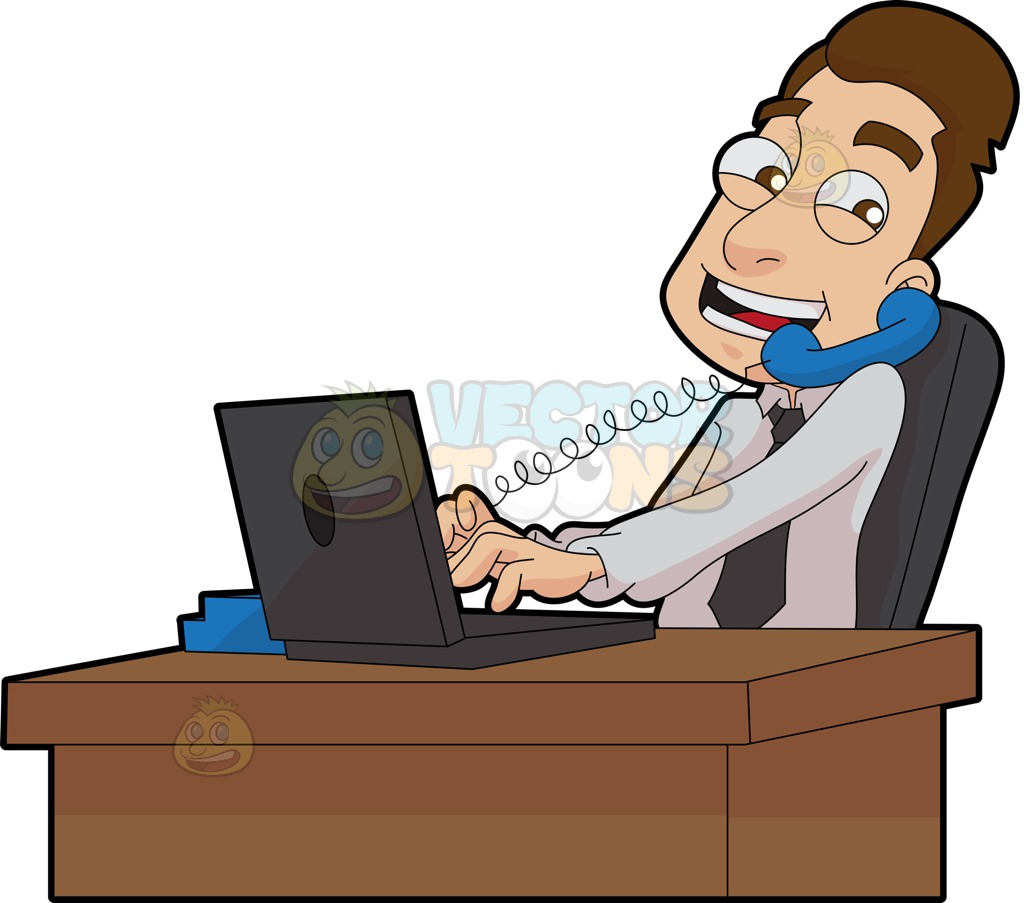 Secretary at desk clipart picture Secretary clipart man - 43 transparent clip arts, images and ... picture