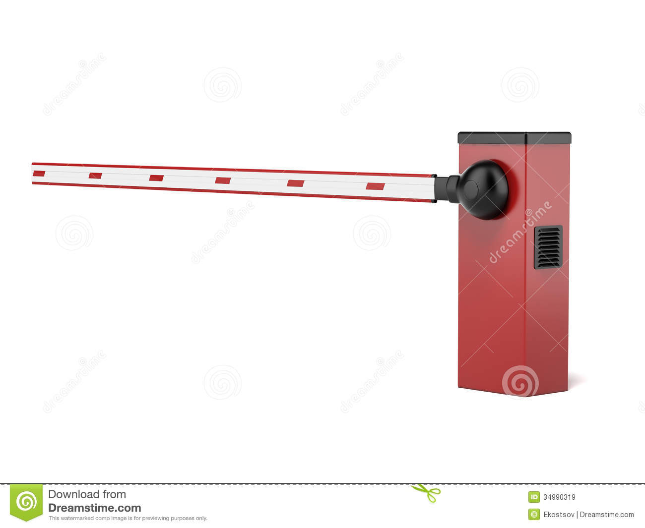 Security gate clipart clip freeuse library Barrier Gate Stock Illustrations – 1,066 Barrier Gate Stock ... clip freeuse library