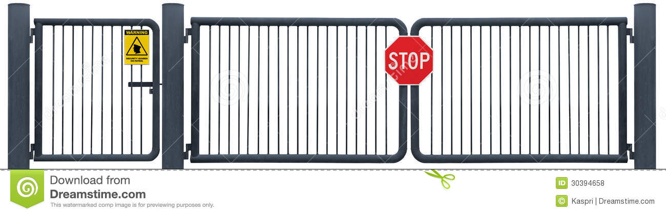 Security gate clipart vector freeuse library Security Gate Clip Art – Clipart Free Download vector freeuse library