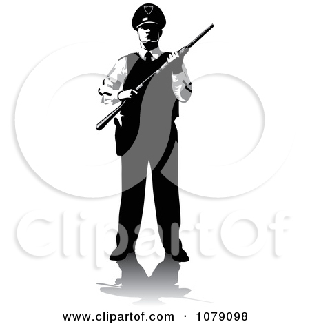 Security guard clipart icon banner library library Royalty-Free (RF) Security Guard Clipart, Illustrations, Vector ... banner library library