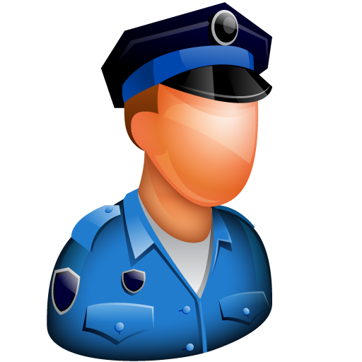 Security guard clipart icon svg black and white stock Guard, officer, police, police officer, police-officer, policeman ... svg black and white stock