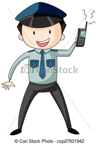 Security guard clipart icon clipart black and white stock Security guard Clip Art and Stock Illustrations. 30,958 Security ... clipart black and white stock