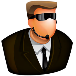 Security guard clipart icon svg black and white Free Icons: Security Guard Icon | Web | Aha-Soft svg black and white