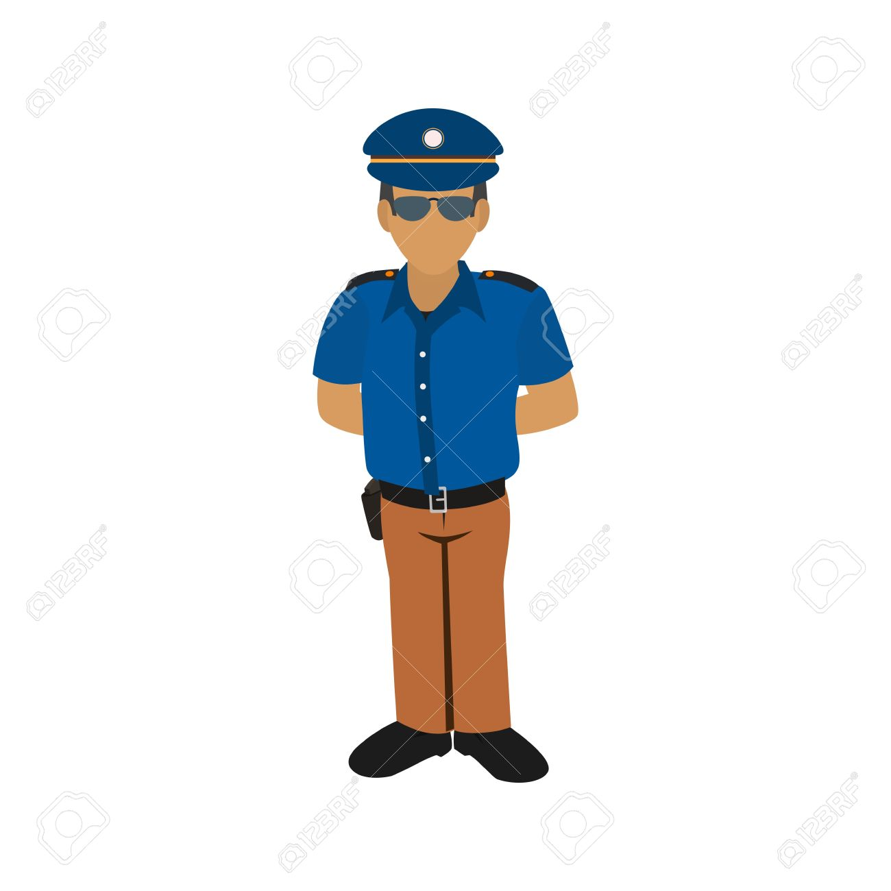 Security guard clipart icon clip freeuse download 48,619 Security Guard Cliparts, Stock Vector And Royalty Free ... clip freeuse download