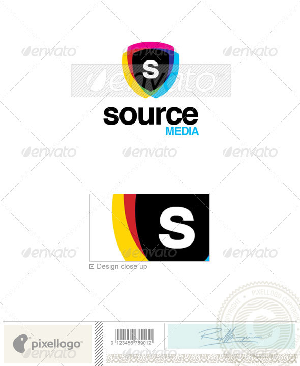 Security letters logo clipart image transparent library Security Logo - 2259 by pixellogo | GraphicRiver image transparent library