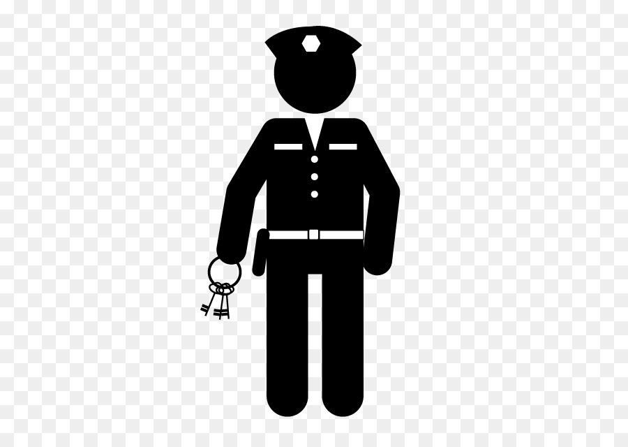 Security officer clipart picture library download Police Officer Cartoon clipart - Security, Police, Black ... picture library download