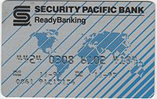 Security pacific bank logo clipart banner stock LoyalTubist banner stock