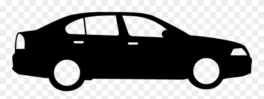 Sedan clipart clip art black and white download Clipart - Sedan Car - November Car Care Tip - Png Download ... clip art black and white download