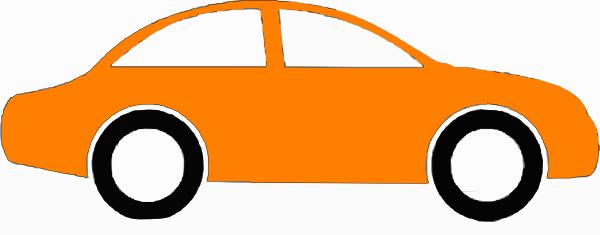 Sedan clipart free library Orange Sedan Clip Art at Clker.com - vector clip art online ... free library