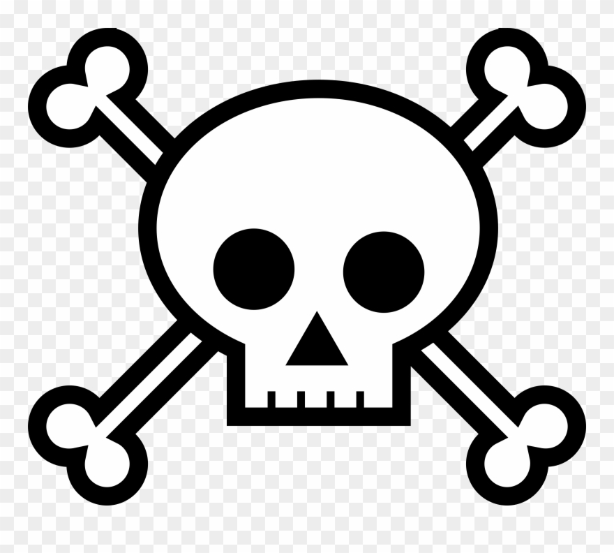 See clipart black and white picture free download See Clipart Black And White - Draw Skull And Bones - Png ... picture free download