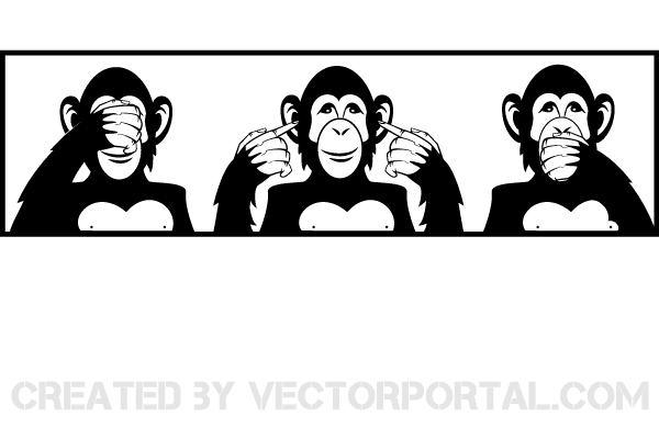 See no evil hear no evil clipart png transparent library Vector Three Wise Monkeys – See no Evil, Hear no Evil, Speak ... png transparent library