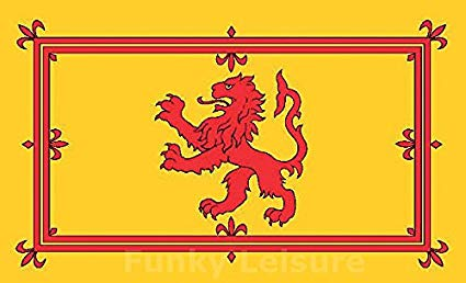 See through clipart banner picture royalty free stock SoCal Flags Scotland Rampant Lion Flag from 3x5 Foot Polyester Royal Banner  - Sold by A Proud American Company - Durable 100d Material Not See Thru ... picture royalty free stock
