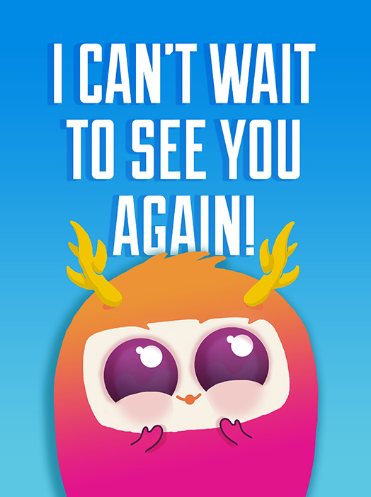 See you again clipart banner library library see you again Card | Miss You Greeting Card | justWink Cards banner library library