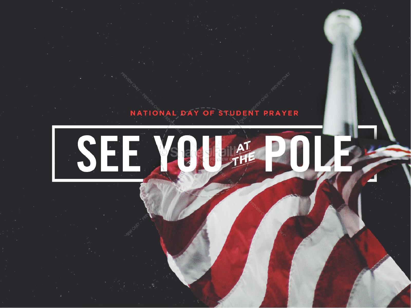 See you at the pole clipart graphic free stock See You At The Pole PowerPoint Template | Back To School ... graphic free stock