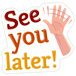 See you later clipart svg black and white See You Later.PNG svg black and white