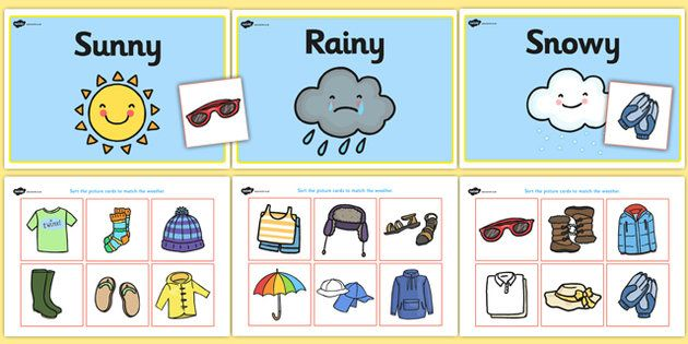 Clipart 3 years old differently abled exercise png black and white stock Weather Clothes Sorting Activity - clothes sorting activity ... png black and white stock