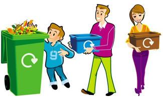Waste management clipart free clip transparent stock Waste segregation clipart 7 » Clipart Station clip transparent stock