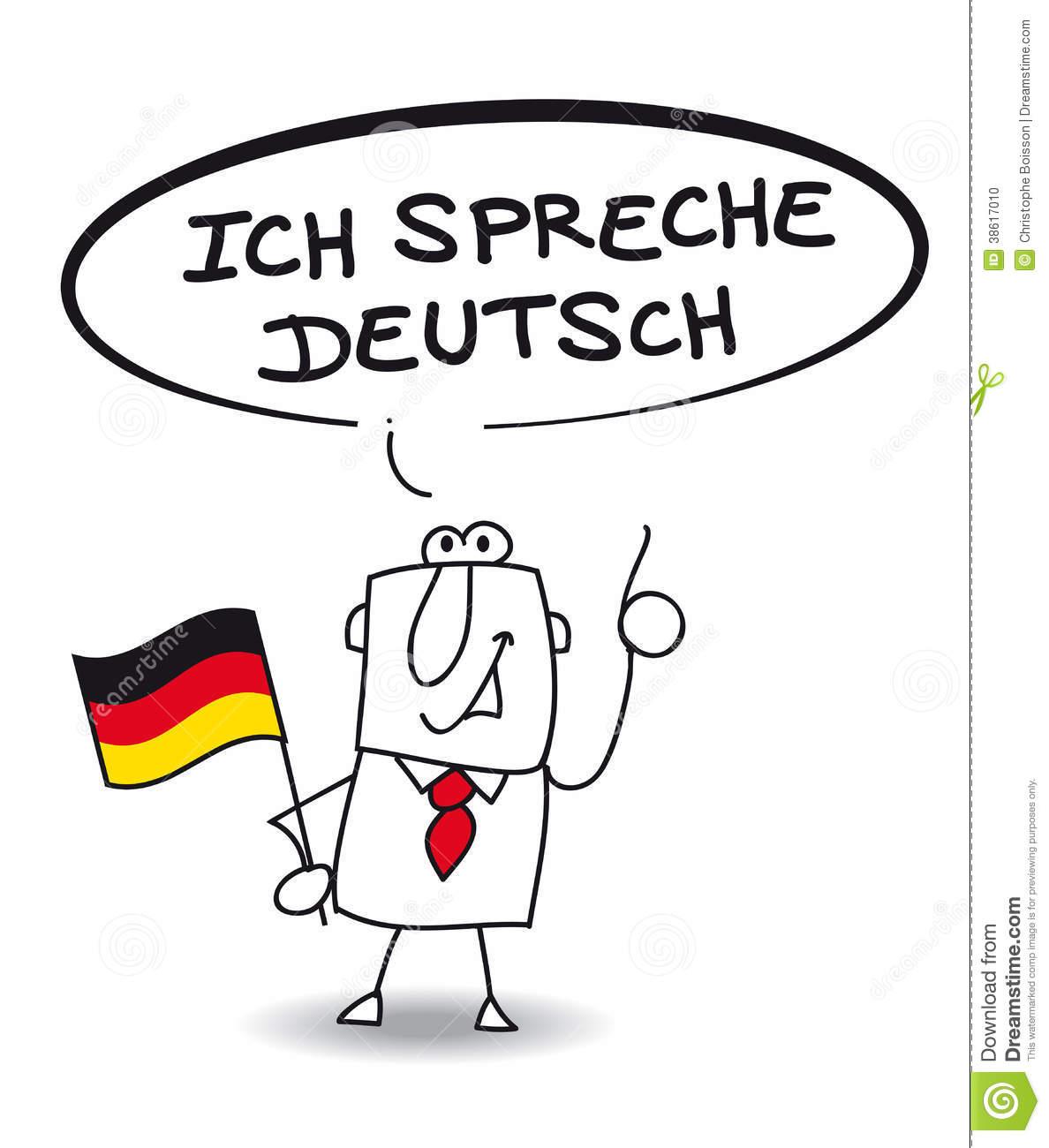 Sehr gut clipart clipart freeuse stock ich-spreche-sehr-gut-deutsch-businessman-speak-fluently-german ... clipart freeuse stock