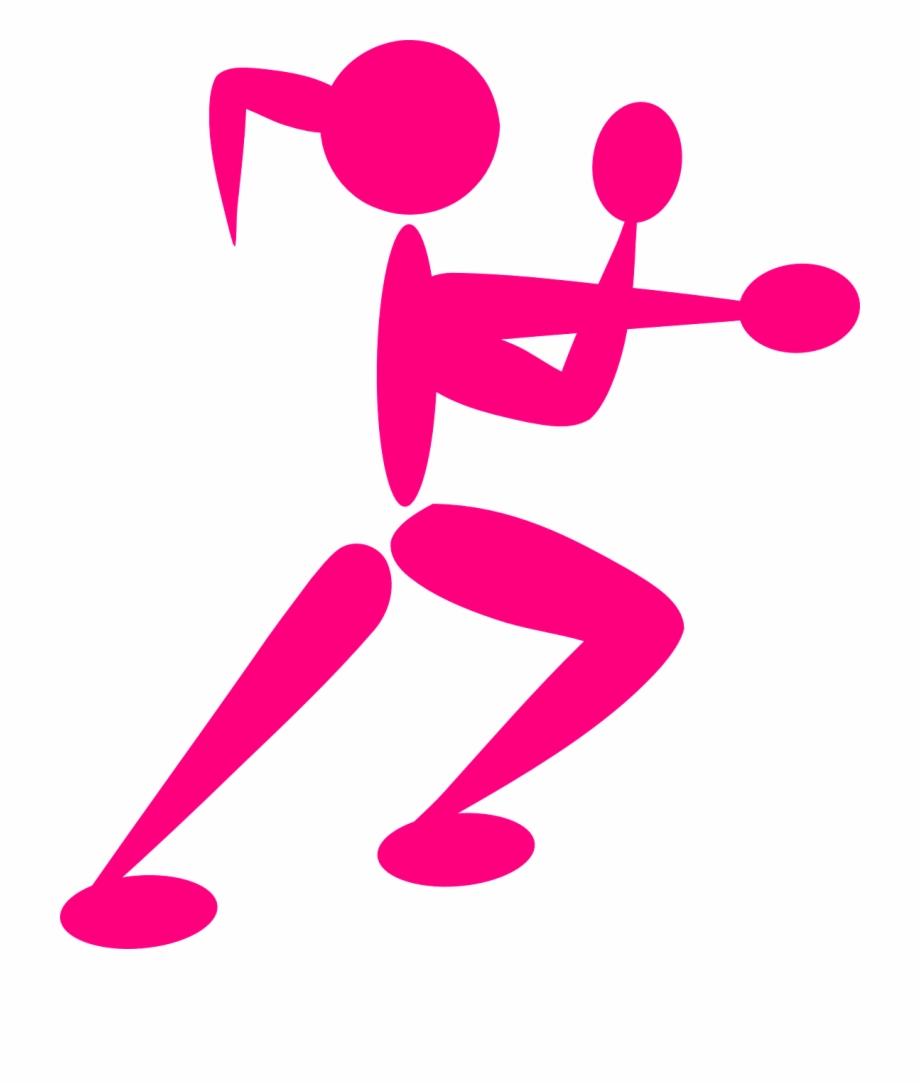 Self defense clipart free image freeuse download Girl, Boxing, Boxer, Stickman, Stick Figure - Self Defense ... image freeuse download