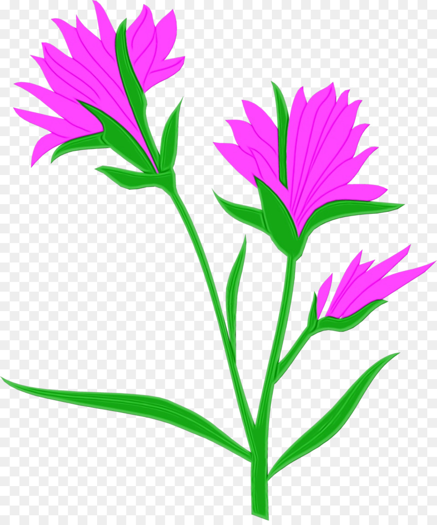 Self pollinating flower clipart graphic royalty free download Pink Flower Cartoon png download - 958*1140 - Free ... graphic royalty free download