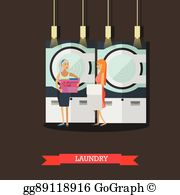 Self service banner clipart black and white download Self Service Laundry Clip Art - Royalty Free - GoGraph black and white download