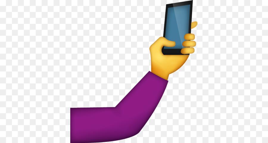Selfie emoji clipart graphic black and white library Arm Emoji clipart - Emoji, Iphone, Hand, transparent clip art graphic black and white library