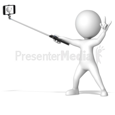 Selfie stick clipart svg transparent library Figure With Selfie Stick - Home and Lifestyle - Great ... svg transparent library