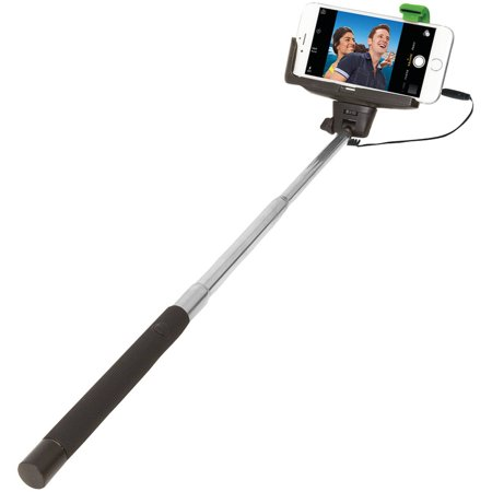 Selfie stick clipart jpeg picture freeuse download JiveWire ETJWSELFIEW Retractable Wired Selfie Stick picture freeuse download