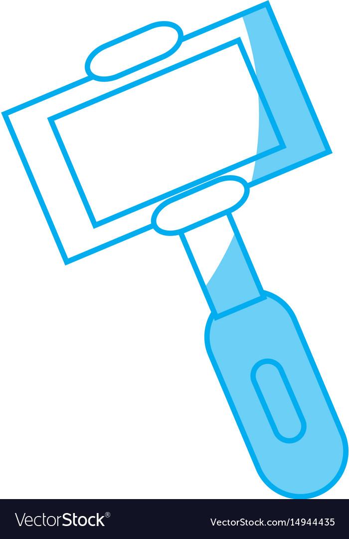 Selfie stick clipart jpeg vector freeuse Selfie stick icon Vector Image vector freeuse