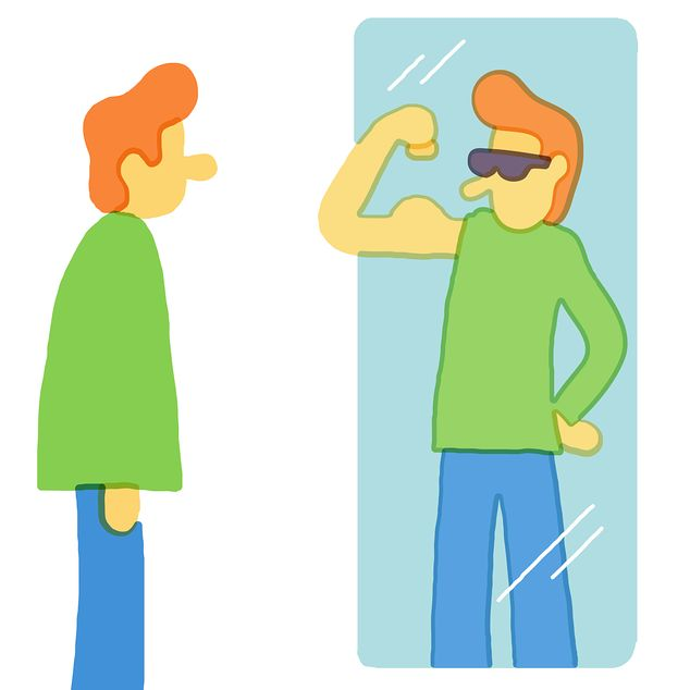 Self-talk clipart image freeuse For Better Performance, Give Yourself a Pep Talk - WSJ image freeuse
