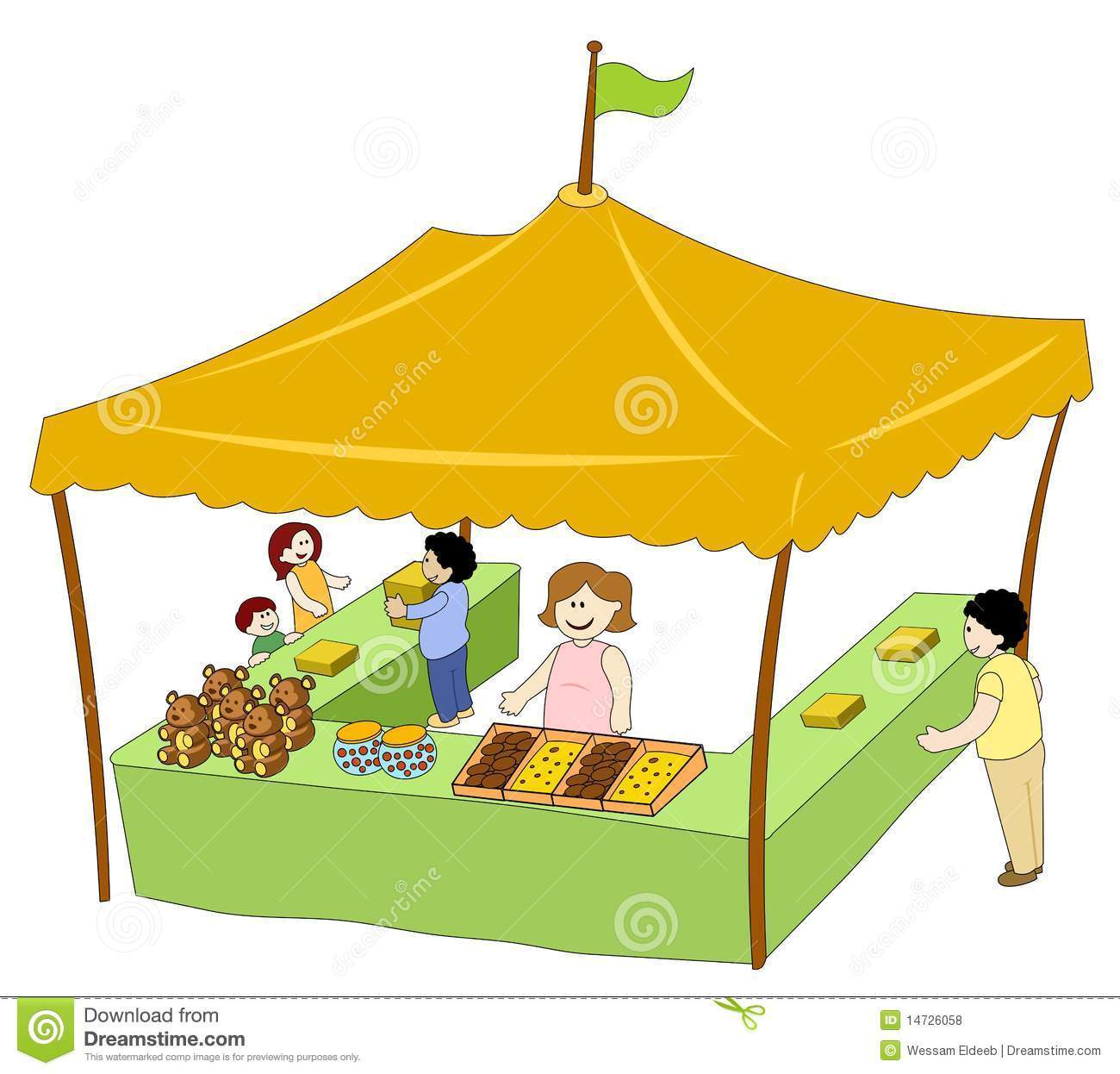 Selling at booth clipart jpg free library Food booth clipart » Clipart Portal jpg free library