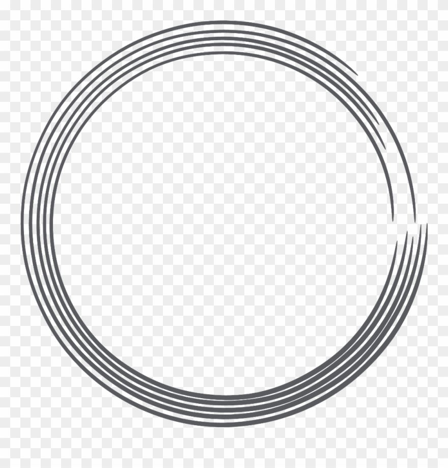 Sello clipart transparent stock Circles Circle Round Frames Frame Border Borders - Vector ... transparent stock