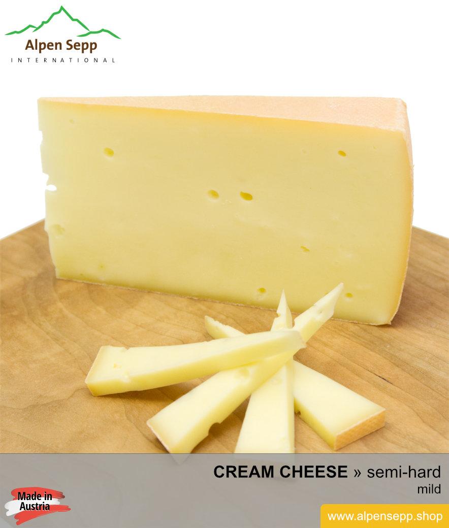 Semi soft cheese clipart svg transparent Artisan medium-hard cream cheese – mild – Rahmkäse svg transparent